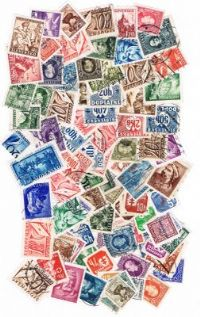 100 different Slovakia (pre 1945) packet